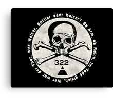 Skull and Bones Canvas Print