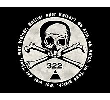 Skull and Bones Photographic Print