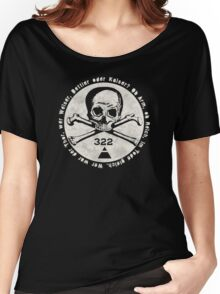 Skull and Bones Women's Relaxed Fit T-Shirt
