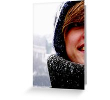 Leanne in Budapest Greeting Card