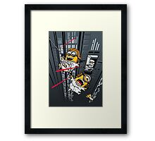 Despicable Escape Framed Print