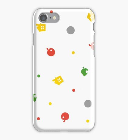 Animal Crossing New Leaf - 3DS Pattern  iPhone Case/Skin