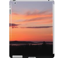 donegal sunset iPad Case/Skin