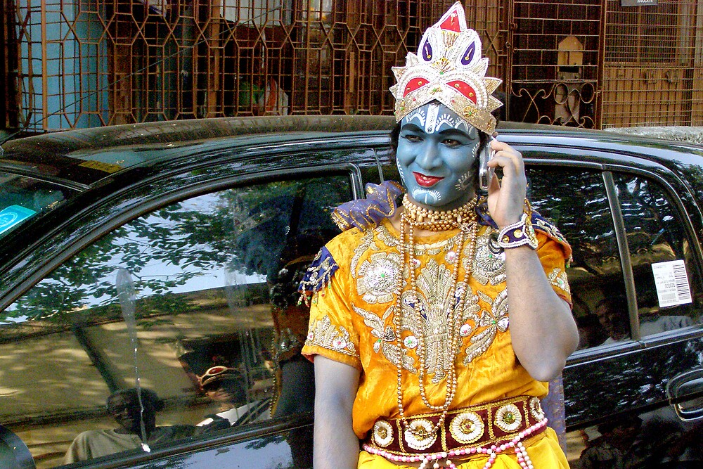 lord krishna by arup