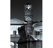 Santa Maria in Trastevere in Rome Photographic Print