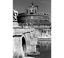 Castel Sant'Angelo in Rome Photographic Print