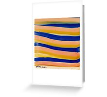 LINES Greeting Card