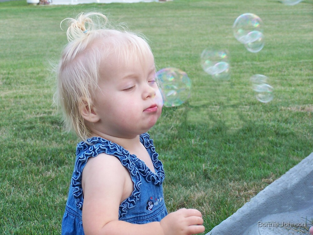 Bubble Bliss by Bonnie Johnson