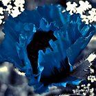 blue poppy by KAREN CUZNER