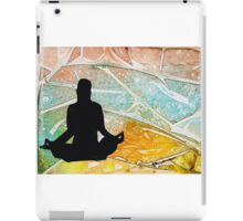 YOGA ME iPad Case/Skin