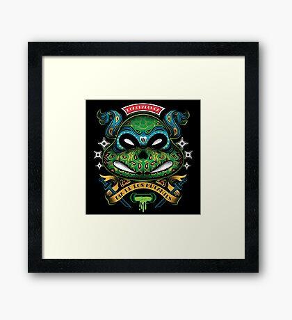 Dia De Los Mutantes Leo Framed Print