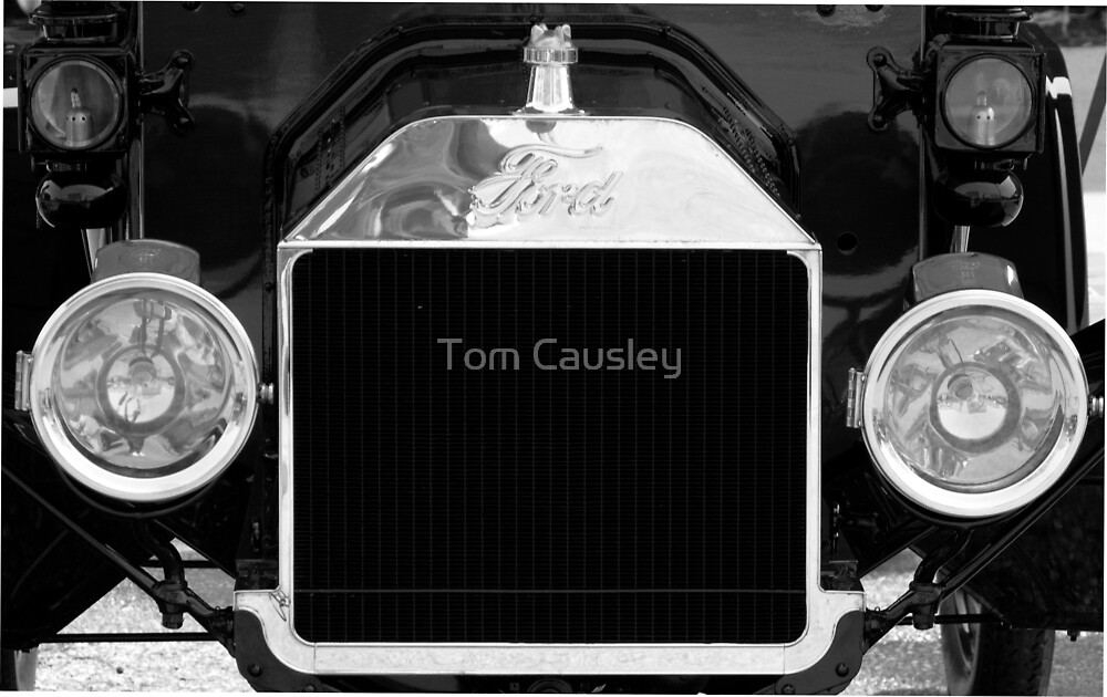Ford Grill by Tom Causley