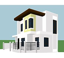 Zen Type House Lot Quezon City Photographic Print