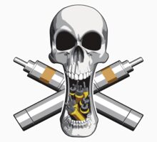 Vaping Skull by dxf1969