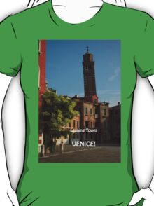 Leaning Tower, Venice T-Shirt