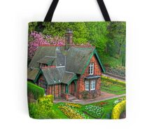Gardener's cottage Tote Bag