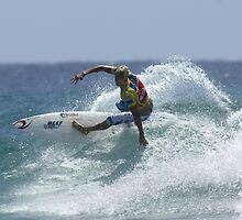 Mick Fanning at Snapper Rocks by John C McBain