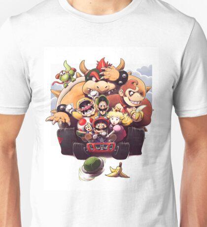 Mario and Friends - Mario Kart Unisex T-Shirt