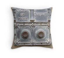 Ring Bell For Assistance Throw Pillow