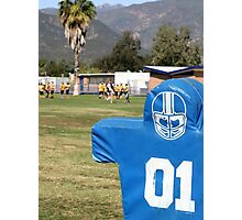 Football Dummy Photographic Print