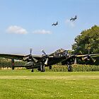 Three Lancasters #2 by Colin Smedley