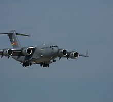 Aif Force C-17 by Bonnie Johnson