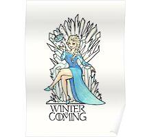 Frozen Winter is Coming Poster
