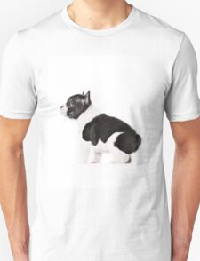 Frenchie to attention Unisex T-Shirt