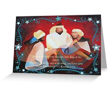 Where Is The Child Who Has Been Born King Of The Jews? Greeting Card