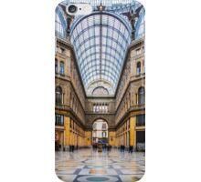 Naples - Inside The Principe Umberto I Gallery iPhone Case/Skin