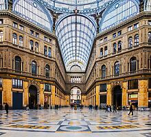 Naples - Inside The Principe Umberto I Gallery by enolabrain