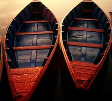 2 Boats, Nepal by emmack