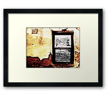 In Your House Framed Print