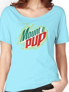 Mount A Pup. Women's Relaxed Fit T-Shirt