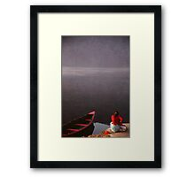 Tranquil Morning, Nepal Framed Print