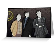 Sherlock Office party Greeting Card
