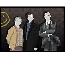 Sherlock Office party Photographic Print