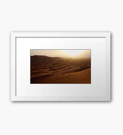 Desert #10 Framed Print
