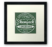 Skewjack Stamp Framed Print
