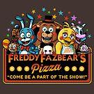 Freddy Fazbear's Pizza: 2nd Location by ninjaink