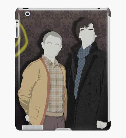 Sherlock Office party iPad Case/Skin