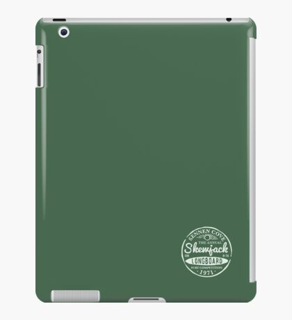 Skewjack Stamp iPad Case/Skin