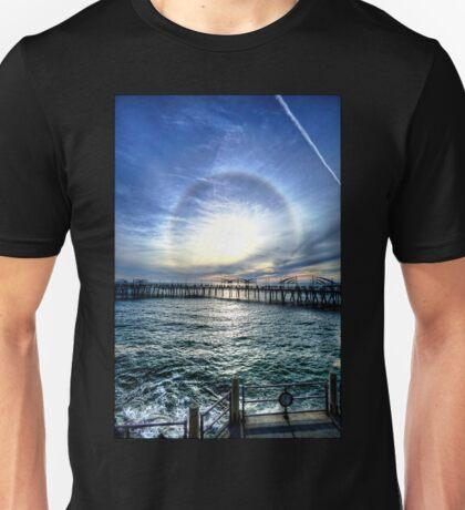 Redondo Beach Pier Epic Sunset Unisex T-Shirt