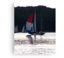 Van Isle 360, 2007 HMCS Oriole Canvas Print