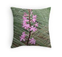 trigger plant and grass tree Throw Pillow