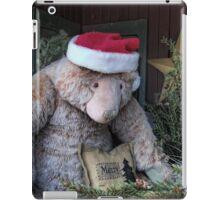 Santa Bear iPad Case/Skin