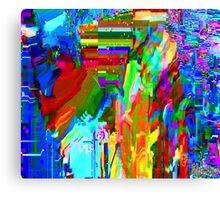 Pixel Bleed 1 Canvas Print