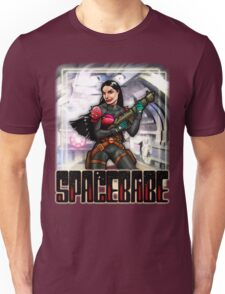 Spacebabe - Heroine of the cosmos! Unisex T-Shirt
