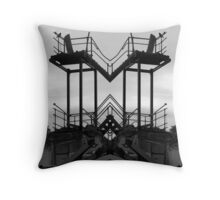 the stairs part 2 Throw Pillow