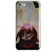 ice orchid2 iPhone Case/Skin